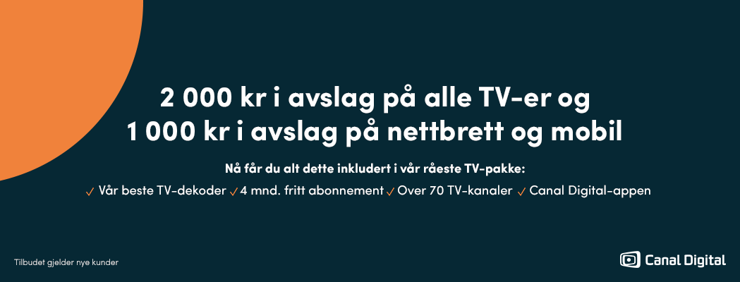 Canal Digital hos Elkjøp. Bli kunde i dag