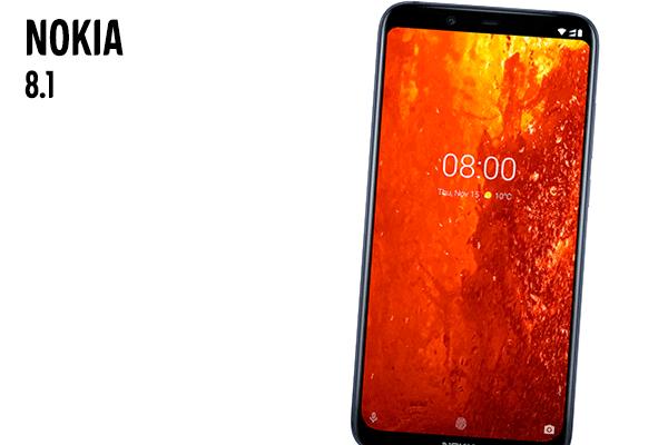 Nokia 8.1 - Spesielt anbefalt. Se den hos Elkjøp