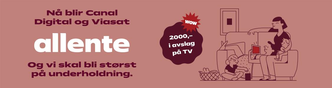 Oppgrader TV-en din med Allente