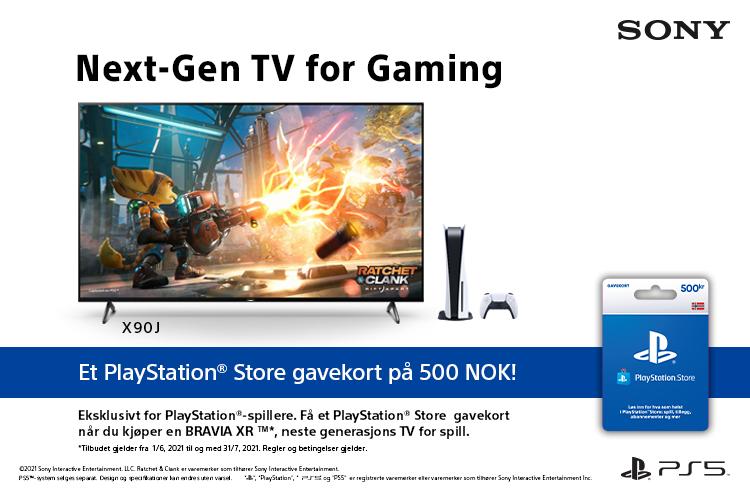 Gaming med Sony