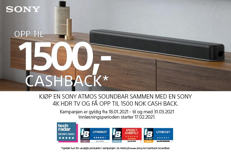 Sony Cashback-kampanje