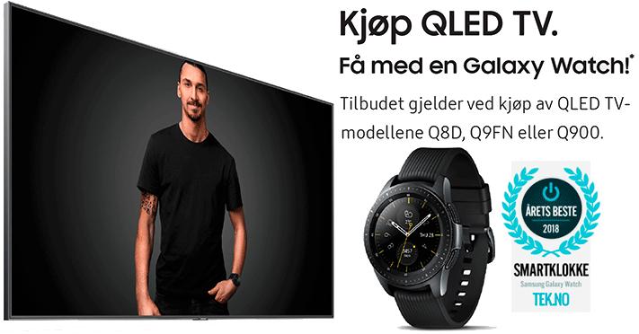 Galaxy Watch på kjøpet