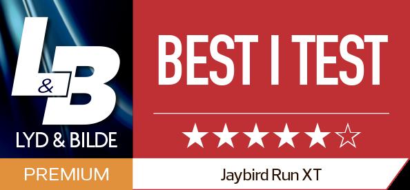 Jaybird Run XT - Best i test logo