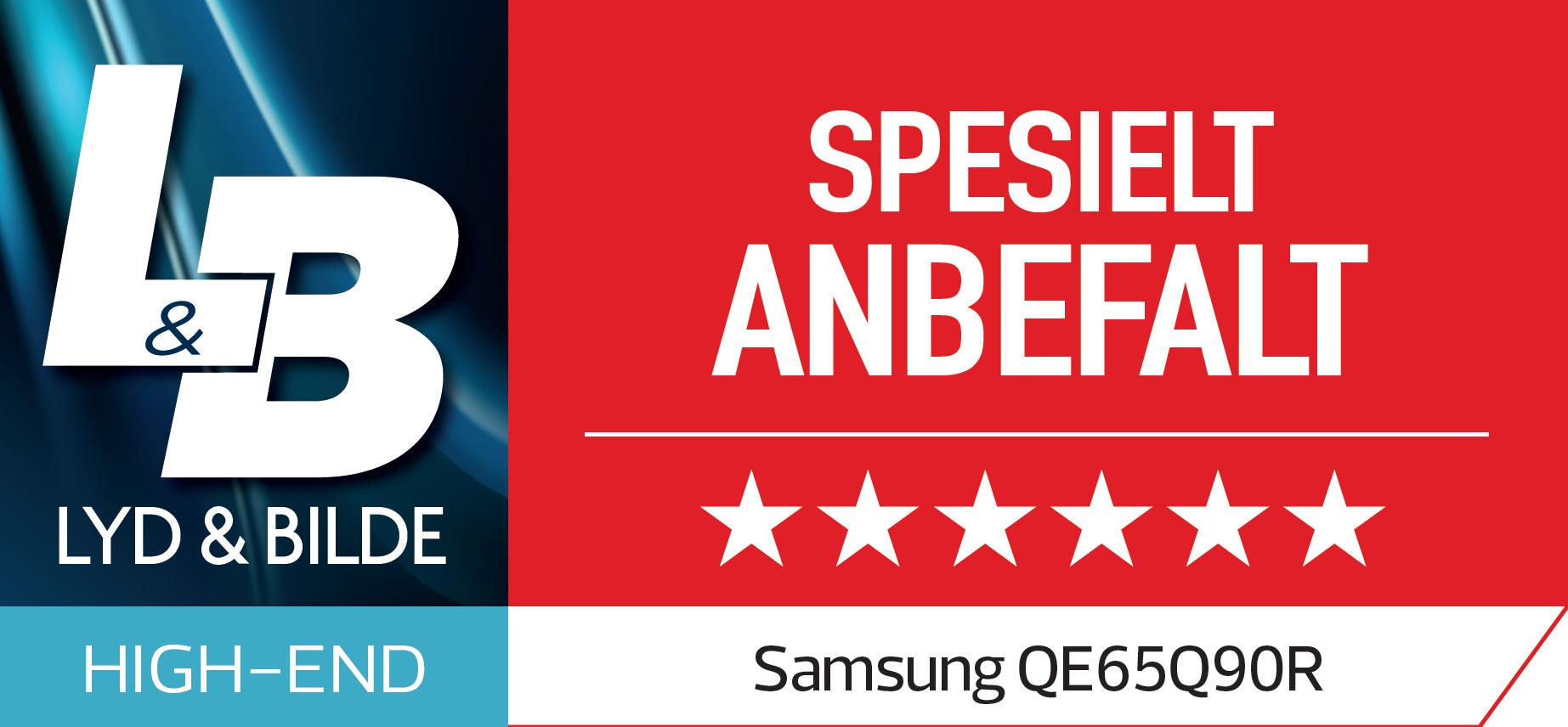 Samsung Q90 - Anbefalt Lyd og bilde