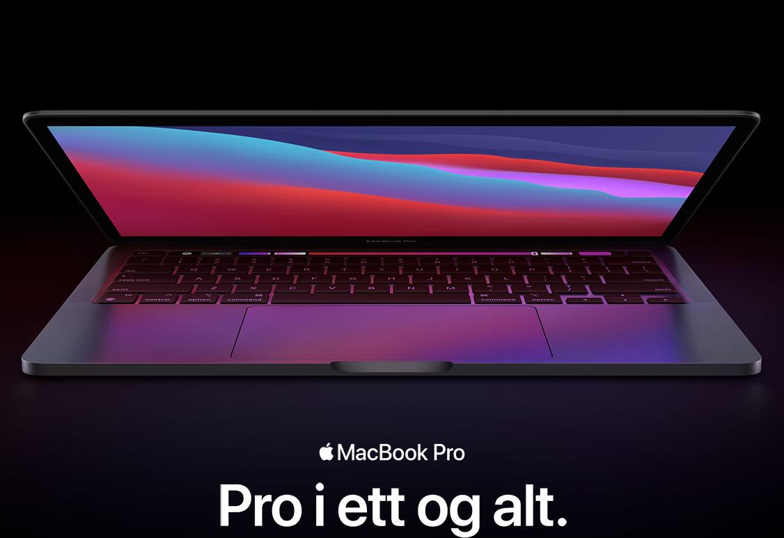 MacBook Air med Apple M1-chippen